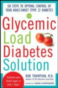 Ebook in inglese Glycemic Load Diabetes Solution Carpender, Dana , Thompson, Rob