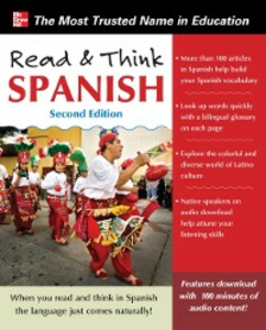 Ebook in inglese Read and Think Spanish, 2nd Edition Spanish, The Editors of Think