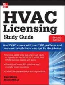 Ebook in inglese HVAC Licensing Study Guide, Second Edition Miller, Mark , Miller, Rex