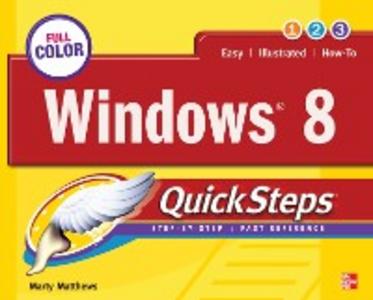Ebook in inglese Windows 8 QuickSteps Matthews, Marty