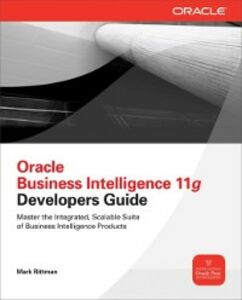 Foto Cover di Oracle Business Intelligence 11g Developers Guide, Ebook inglese di Mark Rittman, edito da McGraw-Hill Education
