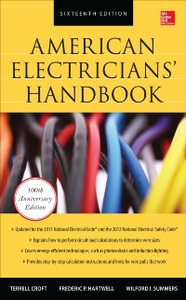 Ebook in inglese American Electricians' Handbook, Sixteenth Edition Croft, Terrell , Hartwell, Frederic , Summers, Wilford