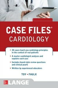 Ebook in inglese Case Files Cardiology Faulx, Michael D. , Toy, Eugene