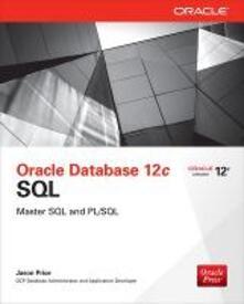 Oracle database 12c SQL - Jason Price - copertina