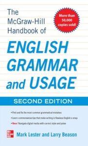 Foto Cover di McGraw-Hill Handbook of English Grammar and Usage, 2nd Edition, Ebook inglese di Larry Beason,Mark Lester, edito da McGraw-Hill Education