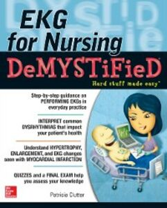 Foto Cover di EKG's for Nursing Demystified, Ebook inglese di Pat Clutter, edito da McGraw-Hill Education