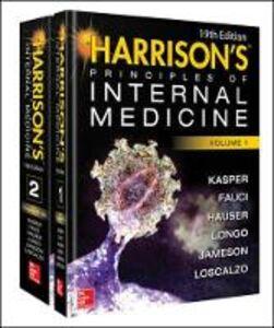 Libro Harrison's principles of internal medicine