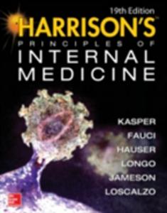 Ebook in inglese Harrison's Principles of Internal Medicine 19/E (Vol.1 & Vol.2) (ebook) Fauci, Anthony S. , Hauser, Stephen , Jameson, J. Larry , Kasper, Dennis L.