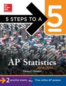 Ebook in inglese 5 Steps to a 5 AP Statistics, 2014-2015 Edition Hinders, Duane C.