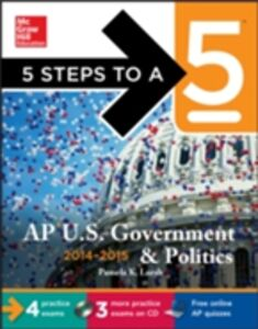 Foto Cover di 5 Steps to a 5 AP US Government and Politics, 2014-2015 Edition, Ebook inglese di Pamela K. Lamb, edito da McGraw-Hill Education