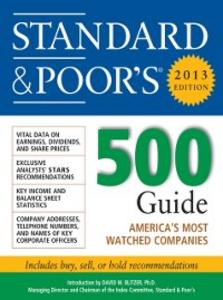 Ebook in inglese Standard and Poors 500 Guide 2013 Standard & Poor', tandard & Poor's