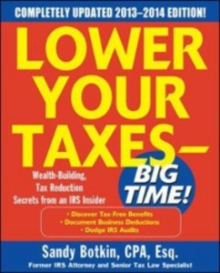 Ebook in inglese Lower Your Taxes Big Time 2013-2014 5/E Botkin, Sandy