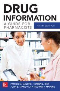 Foto Cover di Drug Information A Guide for Pharmacists 5/E, Ebook inglese di AA.VV edito da McGraw-Hill Education