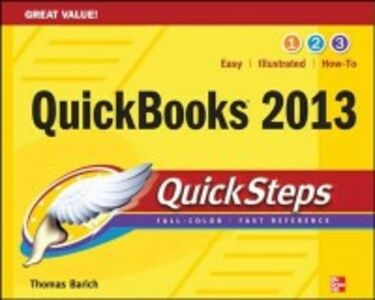 Ebook in inglese QuickBooks 2013 QuickSteps Barich, Thomas