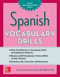 Foto Cover di Spanish Vocabulary Drills, Ebook inglese di Ronni Gordon,David Stillman, edito da McGraw-Hill Education