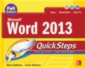 Microsoft Word 2013 QuickSteps