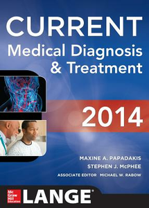 Libro Current medical diagnosis and treatment Maxine A. Papadakis , Stephen J. McPhee , Michael W. Rabow