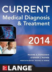Current medical diagnosis and treatment - copertina