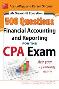 Ebook in inglese McGraw-Hill Education 500 Financial Accounting and Reporting Questions for the CPA Exam Kass-Shraibman, Frimette , Sampath, Vijay , Stefano, Denise M. , Surett, Darrel