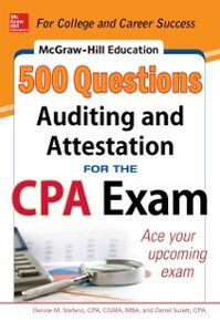 Ebook in inglese McGraw-Hill Education 500 Auditing and Attestation Questions for the CPA Exam Stefano, Denise M. , Surett, Darrel