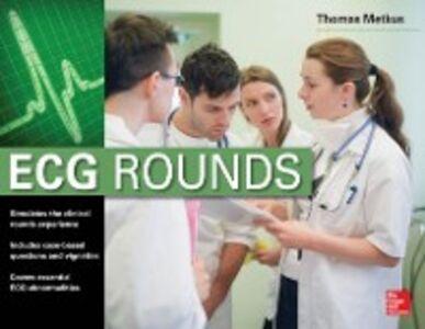 Foto Cover di ECG Rounds, Ebook inglese di Metkus Jr., edito da McGraw-Hill Education