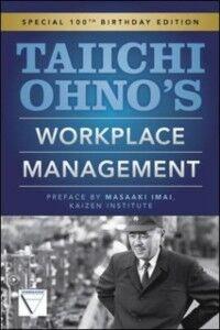 Foto Cover di Taiichi Ohnos Workplace Management, Ebook inglese di Taiichi Ohno, edito da McGraw-Hill Education