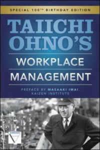 Ebook in inglese Taiichi Ohnos Workplace Management Ohno, Taiichi