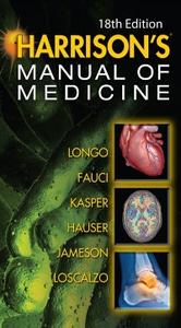 Ebook in inglese Harrisons Manual of Medicine, 18th Edition Fauci, Anthony S. , Hauser, Stephen , Jameson, J. Larry , Kasper, Dennis L.