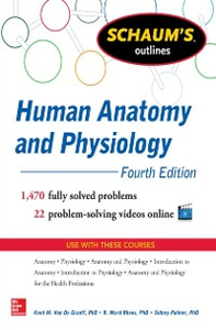 Ebook in inglese Schaums Outline of Human Anatomy and Physiology 4/E (EBOOK) Graaff, Kent Van de , Palmer, Sidney , Rhees, R.