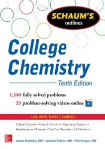 Ebook in inglese Schaum's Outline of College Chemistry Epstein, Lawrence , Krieger, Peter , Rosenberg, Jerome