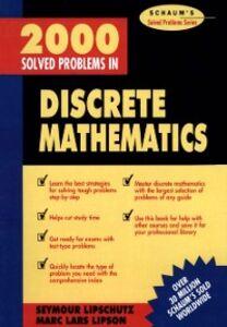 Ebook in inglese 2000 Solved Problems in Discrete Mathematics Lipschutz, Seymour
