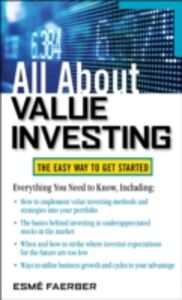 Ebook in inglese All About Value Investing Faerber, Esme