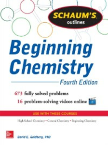 Ebook in inglese Schaum's Outline of Beginning Chemistry Goldberg, David