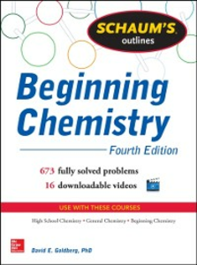 Ebook in inglese Schaum's Outline of Beginning Chemistry (EBOOK) Goldberg, David