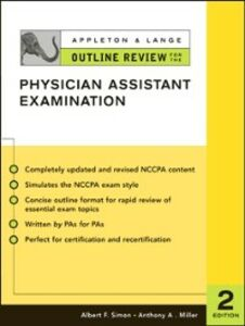 Ebook in inglese Appleton & Lange Outline Review for the Physician Assistant Examination, Second Edition Miller, Anthony , Simon, Albert