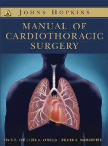 Ebook in inglese Johns Hopkins Manual of Cardiothoracic Surgery Baumgartner, William , Vricella, Luca A. , Yuh, David Daiho