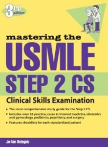 Ebook in inglese Mastering the USMLE Step 2 CS, Third Edition Reteguiz, Jo-Ann