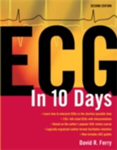 Ebook in inglese ECG in Ten Days: Second Edition Ferry, David