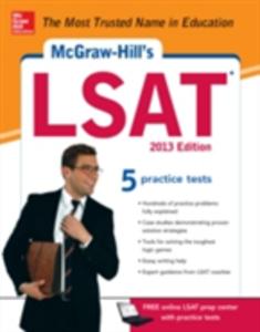 Ebook in inglese McGraw-Hill's LSAT, 2013 Edition Falconer, Russ , Johnson, Drew D.