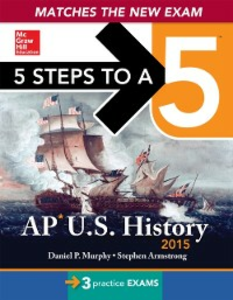 Ebook in inglese 5 Steps to a 5 AP US History, 2015 Edition Murphy, Daniel