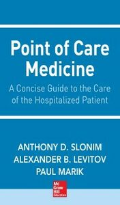 Foto Cover di Point of Care Medicine, Ebook inglese di Alexander Levitov,Anthony Slonim, edito da McGraw-Hill Education