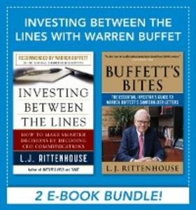 Ebook in inglese Investing between the Lines with Warren Buffet Rittenhouse, L. J.