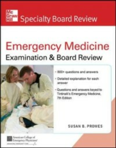 Ebook in inglese McGraw-Hill Specialty Board Review Tintinalli's Emergency Medicine Examination and Board Review, 7th Edition Promes, Susan