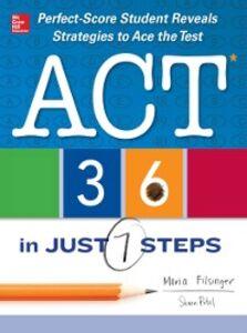 Ebook in inglese ACT 36 in Just 7 Steps Filsinger, Maria , Patel, Shaan