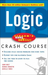 Ebook in inglese Schaum's Easy Outline of Logic Nolt, John , Rohatyn, Dennis , Varzi, Achille