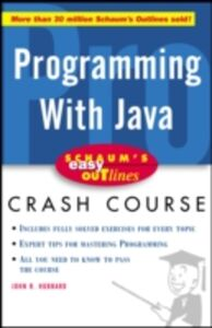 Ebook in inglese Schaum's Easy Outline of Programming with Java Hubbard, John