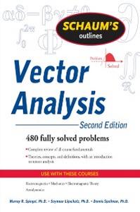 Ebook in inglese Schaum's Outline of Vector Analysis, 2ed Lipschutz, Seymour , Spiegel, Murray