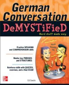 Ebook in inglese German Conversation Demystified Swick, Ed