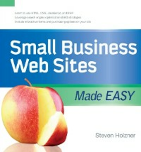 Ebook in inglese Small Business Web Sites Made Easy Holzner, Steven