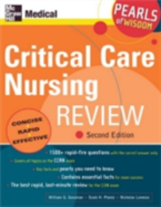 Ebook in inglese Critical Care Nursing Review: Pearls of Wisdom, Second Edition Gossman, William , Lorenzo, Nicholas , Plantz, Scott